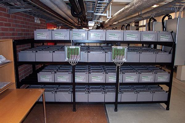 Batscan at UPS batteries